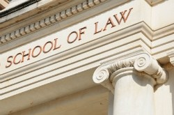 School of Law sign