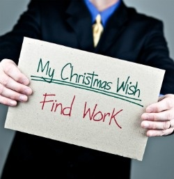 Looking for work during the holidays