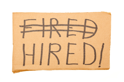 fired and hired