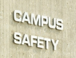 Campus Safety Sign