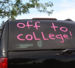 Off to College!