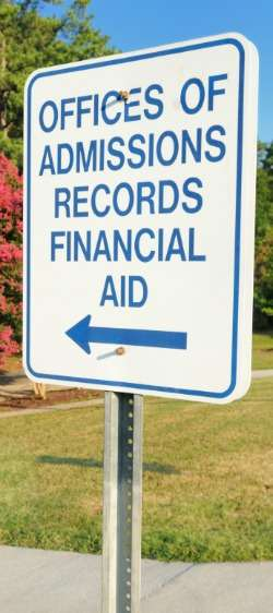 Office of Financial Aid Sign